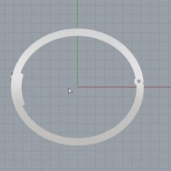 Download 3D printer model Cartier Inspired Bracelet 3d printable cad design, KalamityKontact