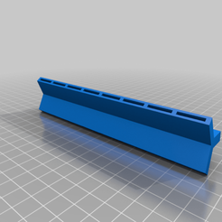 Download free 3D printing models Popsicle stick shelf (large stick format), BakoProductions