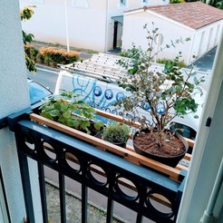 Download free STL Flowerpot holder / Flowerpot holder, BakoProductions