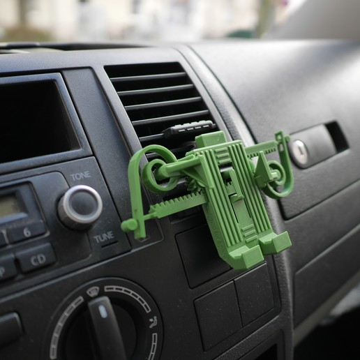 4.JPG Download free STL file PRINT-IN-PLACE PHONE HOLDER - FOR SPACE?! • 3D print object, SunShine