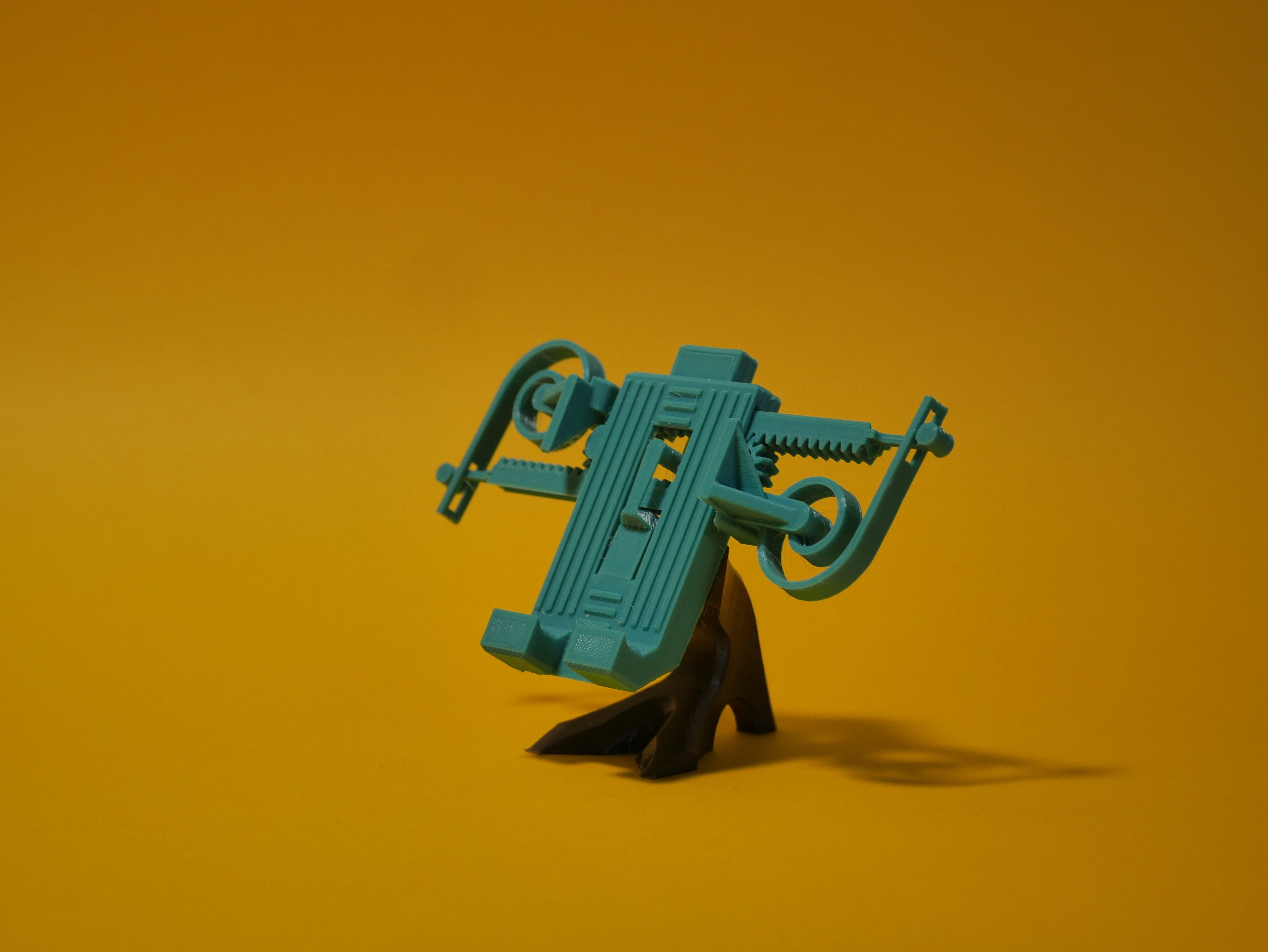 2.JPG Download free STL file PRINT-IN-PLACE PHONE HOLDER - FOR SPACE?! • 3D print object, SunShine