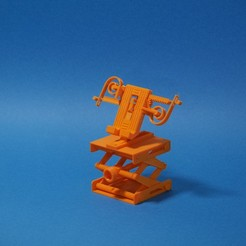 Download free STL file Elevated Print in Place Phone Holder! • 3D print model, SunShine