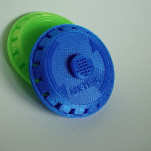 DSC04175.jpg Download free STL file Print in Place- Distance Measuring Roll Tool • 3D print object, SunShine