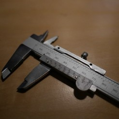 Free 3D printer files Cheap Digital Caliper to Analogue Conversion, SunShine