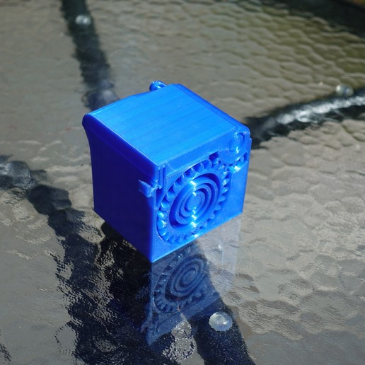 DSC04117.JPG Download free STL file PRINT-IN-PLACE SPRING LOADED BOX • 3D printer object, SunShine