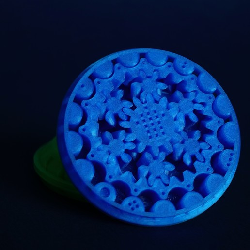 DSC04169.jpg Download free STL file Print in Place- Distance Measuring Roll Tool • 3D print object, SunShine