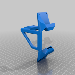 Download free 3D printing designs My3D Dual Radial Fan Mount (1 piece, no supports), a69291954