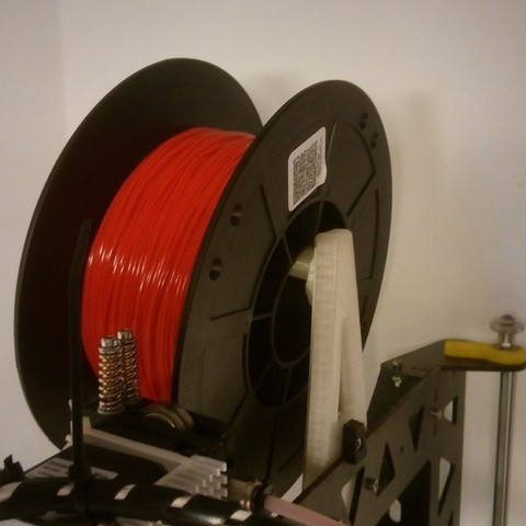 Download free STL file spool holder for P3 steel (leonardo) • 3D printing design, a69291954
