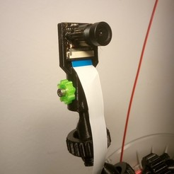 Free 3D printer model Raspberry PI CAM Holder, a69291954