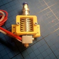 Descargar Modelos 3D para imprimir gratis CL260 Soporte del ventilador del extremo caliente (atornillado) (E3D v5), a69291954