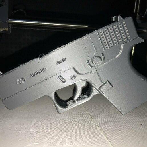 image1.jpg Télécharger fichier STL Glock 43  • Design à imprimer en 3D, ThePrinter_i