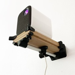 Télécharger plan imprimante 3D SUPPORT VIDEO-PROJECTEUR, Rom_imprim3D