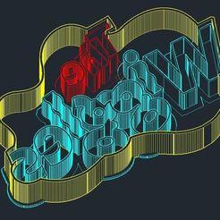 Download 3D printing files Wiggles Logo Cutter, Hamer77