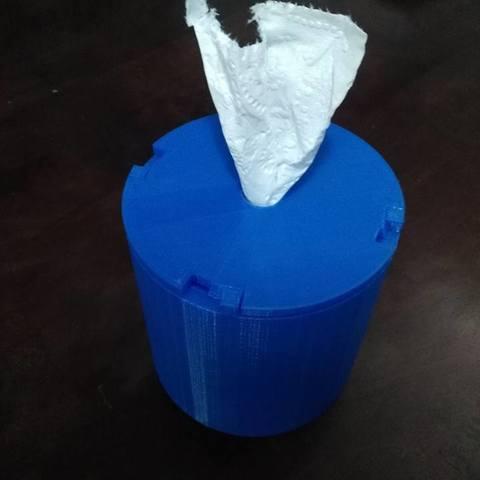 Download free 3D printing designs Tissue Holder 2, DraftingJake