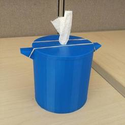 Download free 3D printing models Tissue Holder 1.0, DraftingJake