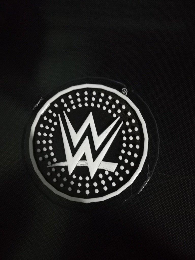 bd2a18e9644bbaaf9fcb3f5d1f238ae4_display_large.jpg Download free STL file WWE Logo Coaster • Design to 3D print, DraftingJake