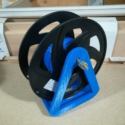 Free 3D printer files Anet A8 Spool Holder, DraftingJake