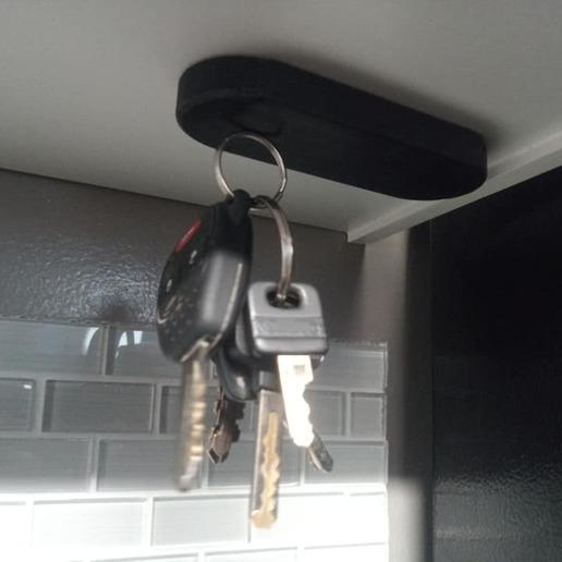 Download free 3D printer templates Magnetic Key Holder, DraftingJake