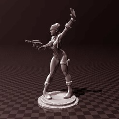 Free 3D printer model Princess Leia Organa, FiveNights