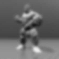 Download free 3D printing models Naked Hulk - Low Poly, FiveNights