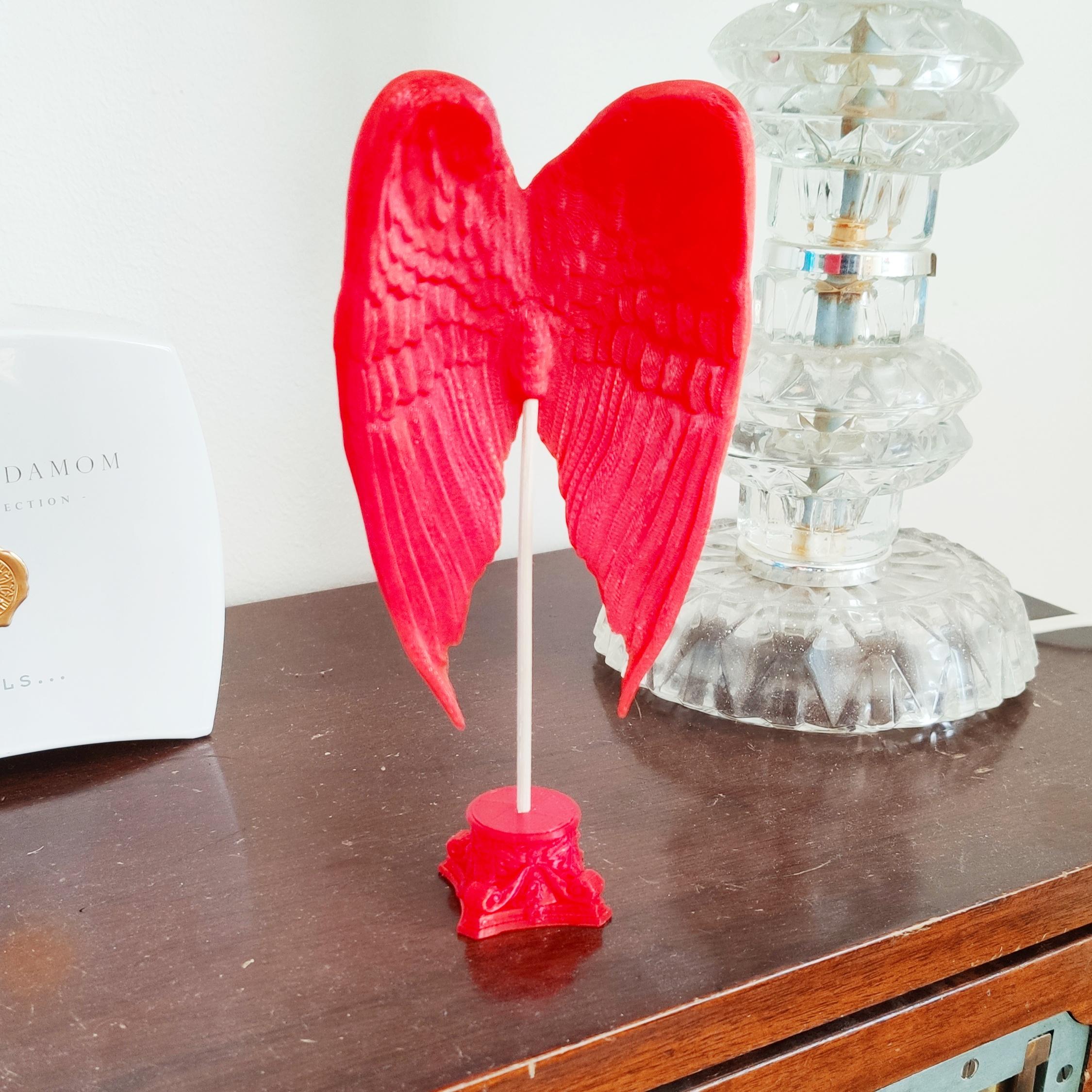 IMG_20191015_152222.jpg Download free STL file Angel Wing Sculpture • 3D printable model, FiveNights
