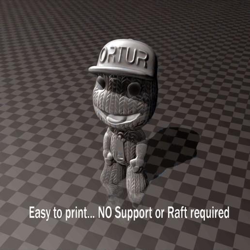 ORTUR_Boy.jpg Download free STL file ORTUR Boy - 3D printing Test • 3D print design, FiveNights