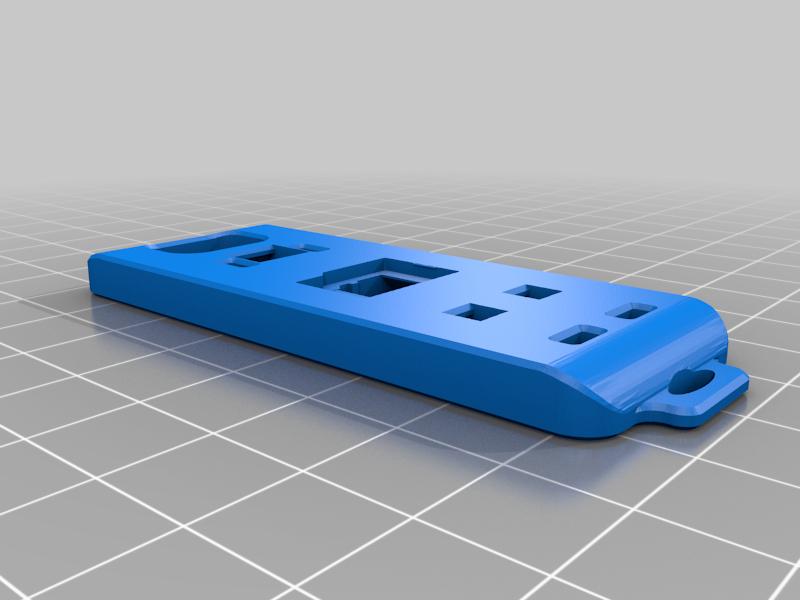 OneR_SD_battery_cover.png Télécharger fichier STL gratuit Insta360 ONE R 2in1 couvercle de pile • Modèle pour imprimante 3D, FiveNights