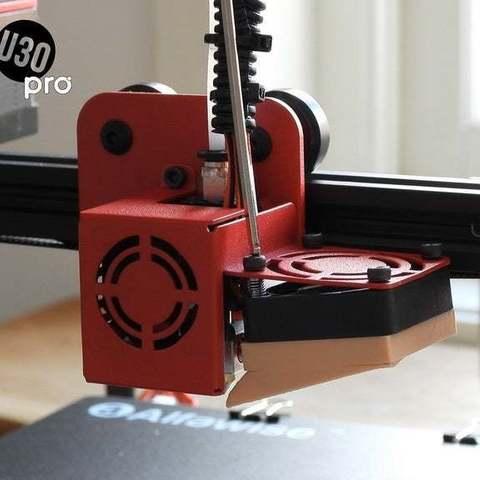 460cdaccbde6ba6ee6f31fbcf10b9d29_display_large.jpg Télécharger fichier STL gratuit Alfawise U30 PRO conduit • Plan à imprimer en 3D, FiveNights