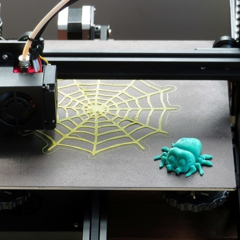 Download free 3D print files Lucas the Spider, FiveNights