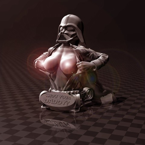 Download free 3D printing designs Darth Vader - Who's Your Daddy, FiveNights
