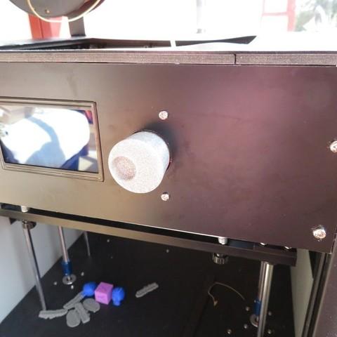 Free STL Tronxy C5 LCD knob (Ultimaker style), FiveNights