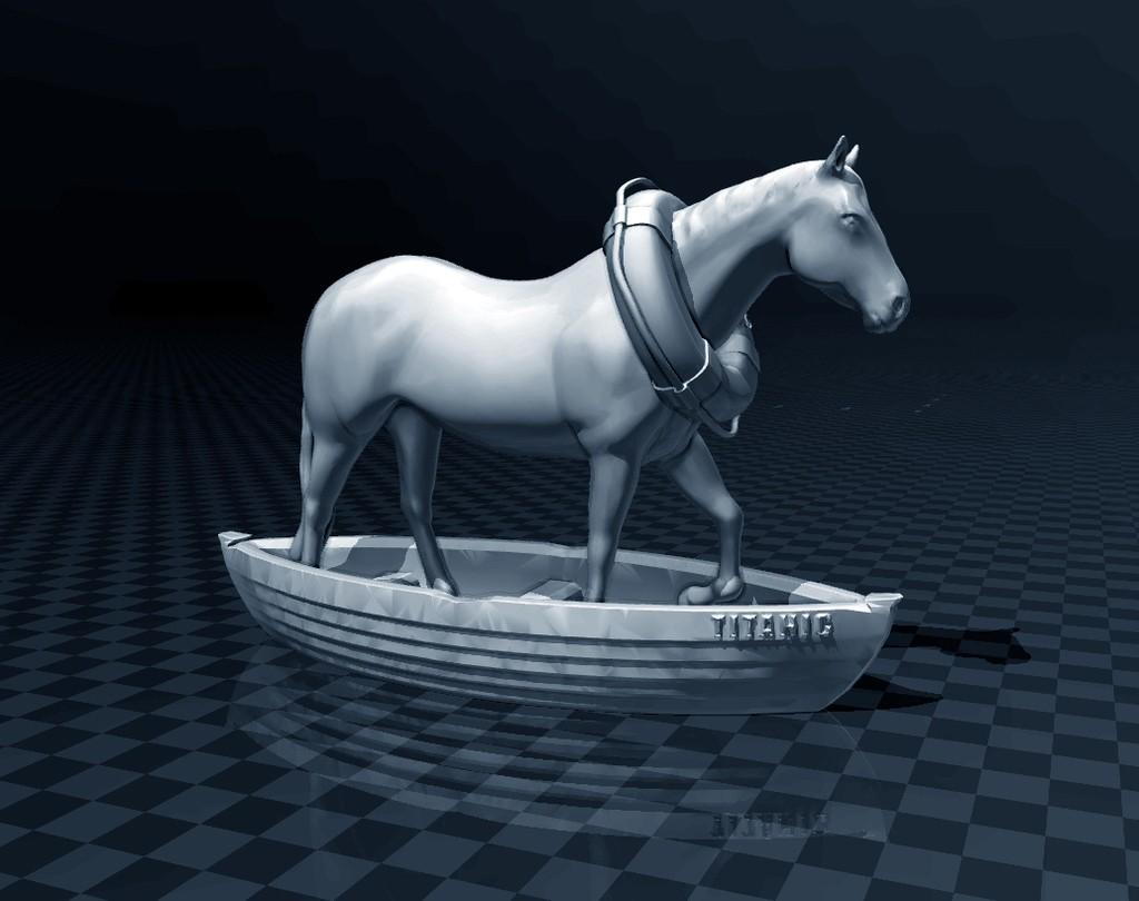 ae332330f229d7ff53a777c8e1346a7c_display_large.jpg Download free STL file Horse In A Boat • 3D printing design, FiveNights