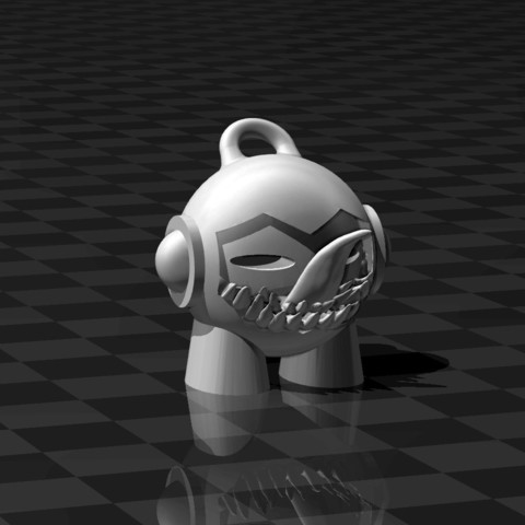 Free 3D print files Venom Marvin KeyChain, FiveNights