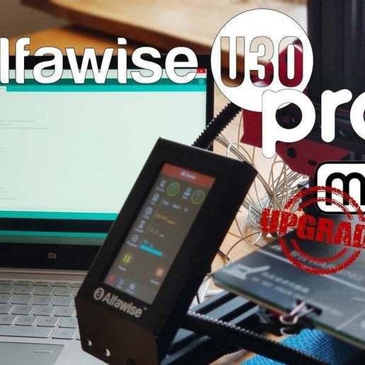 Descargar modelo 3D gratis Alfawise U30 PRO, Marlin con los ajustes del Ender 3 PRO + conducto, FiveNights