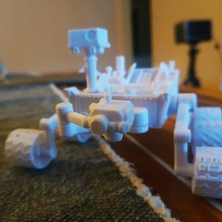 Download free 3D printing designs Curiosity Rover / NASA, FiveNights