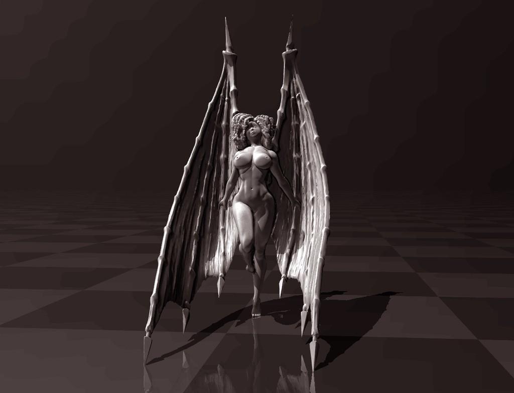55fcee1bca544a6decc070836b11a1a4_display_large.jpg Download free STL file Sexy Devil • 3D printing object, FiveNights