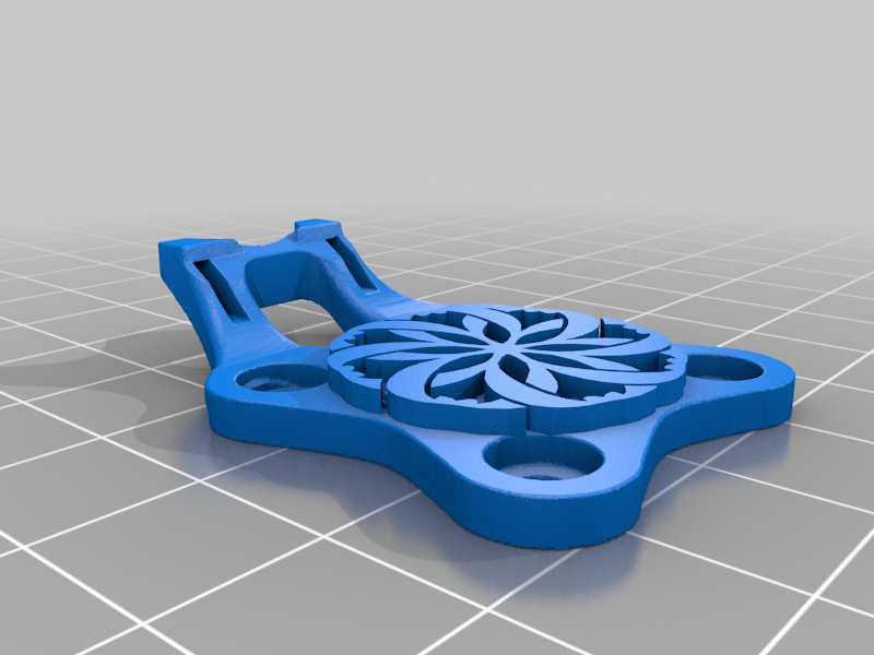 CableHolder.png Download free STL file TwoTrees Sapphire Pro - Carriage Cable Holder • Template to 3D print, FiveNights