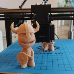 Download free 3D printer templates Little Big Planet, Sackboy - Viking (support free), FiveNights