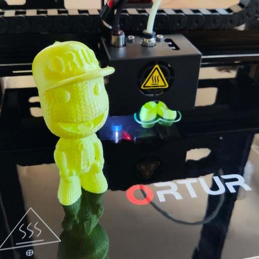 Télécharger STL gratuit ORTUR Boy - Test d'impression 3D, FiveNights