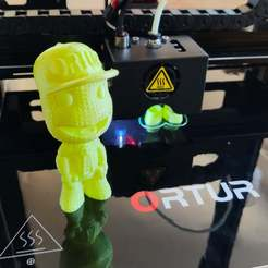Download free STL ORTUR Boy - 3D printing Test, FiveNights