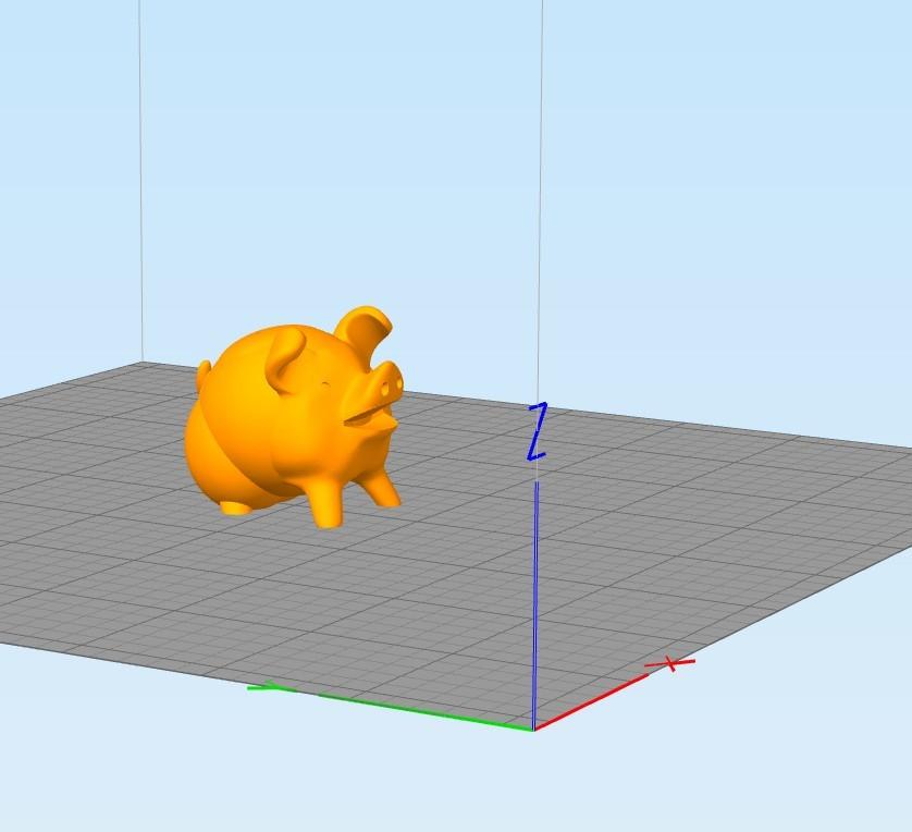 d99119ca42e35bfa7fbc7fba9ab1d88a_display_large.jpg Télécharger fichier STL gratuit Supportless - Cute Pig (test d'imprimante 3D) • Plan à imprimer en 3D, FiveNights