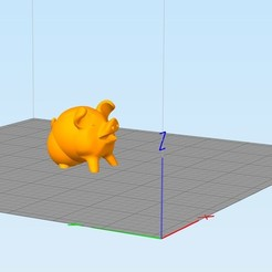 Download free 3D printing models Supportless - Cute Pig (3D printer test), FiveNights