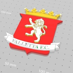 Free 3D printer model VALLETTA F.C., FiveNights