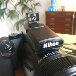 29d97ef6b269a832239f349d85686595_display_large.jpg Télécharger fichier STL gratuit Hot Shoe - Caméra Sight • Design imprimable en 3D, FiveNights