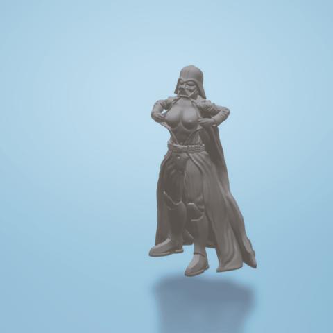 Download free 3D printer templates Darth Vader - Flashing (NO logo), FiveNights