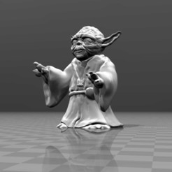 Download free 3D printing designs Master Yoda, FiveNights