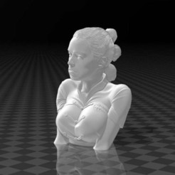 119716374_10157930470810000_4083735383177823563_n.jpg Download free STL file Rey Skywalker - Daisy Ridley (bust) • 3D printer object, FiveNights
