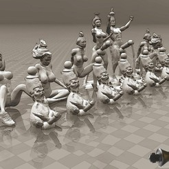 Free 3D printer designs The Perfect - Erotic Chess Set, FiveNights