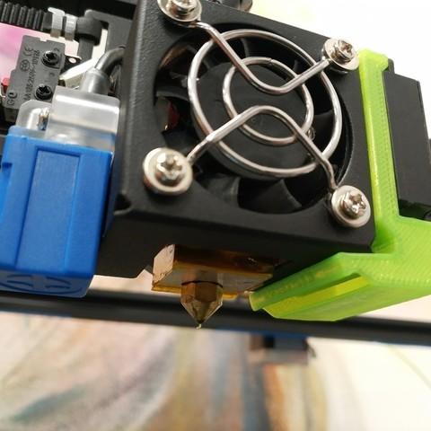 Download free 3D model Tronxy X5SA Fan Duct, FiveNights