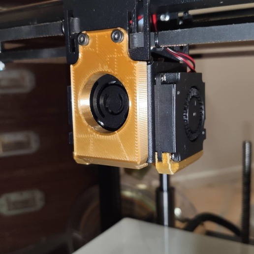 89602043_10157358160655000_662744618055499776_o.jpg Download free GCODE file Stabilizer for Hotend (carriage) 2 versions - Two Trees Sapphire 3D printer • 3D printer model, FiveNights